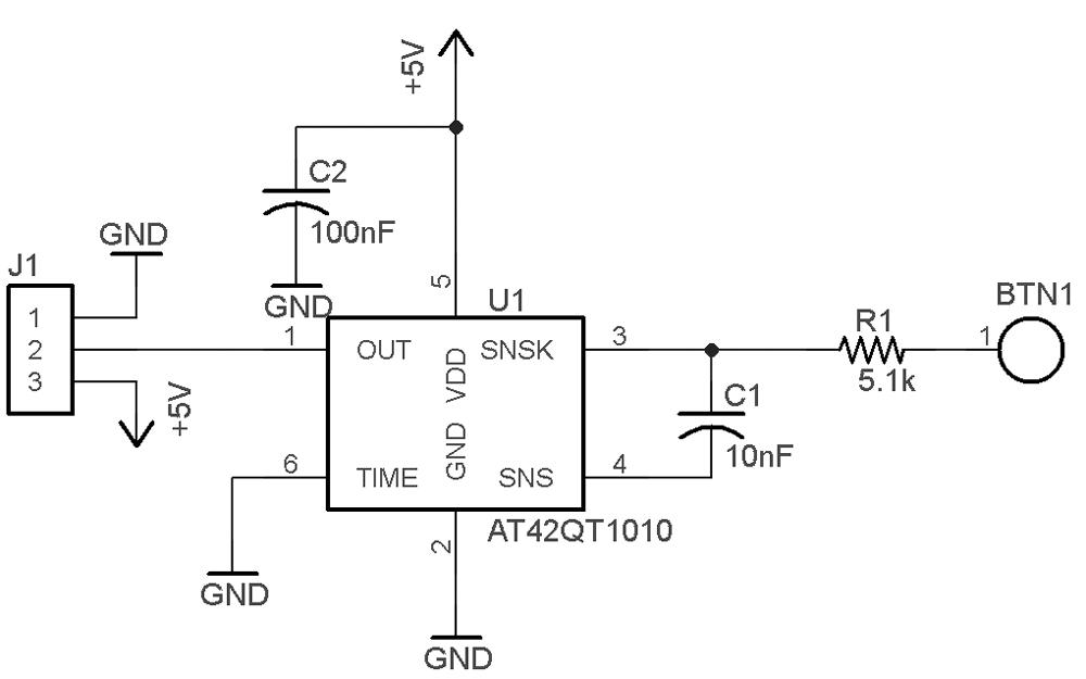 Touch sensor board